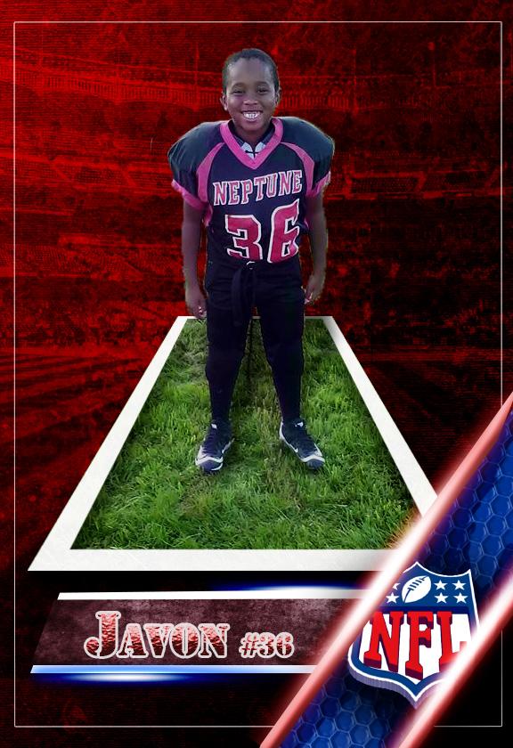 Javon Front Card